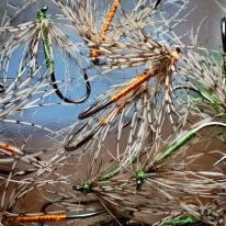 A mess of Partridge flies
