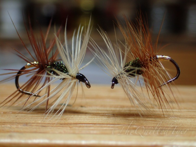 Renegade Wet fly on the left, Renegade Dry Fly on the right