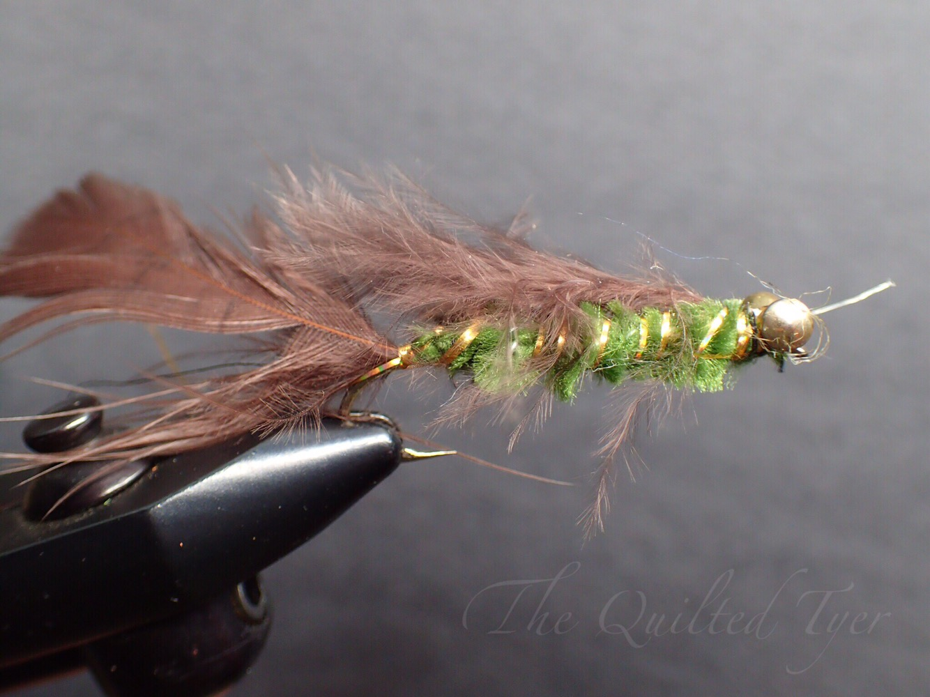 Note my 'sweet hackle wraps