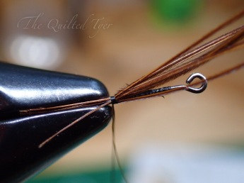 Then 5 or 6 pheasant tail fibers.