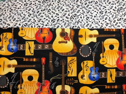 Guitars and notes