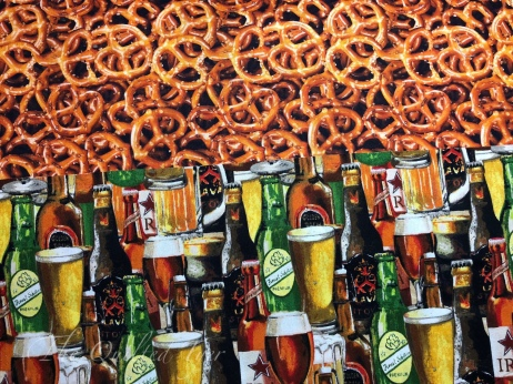 Pretzels and beer