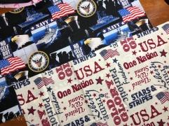 Navy and USA
