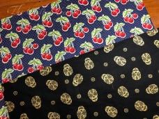 Cherries and skulls