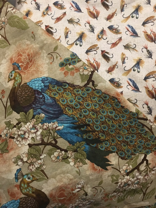 Peacock and Flies