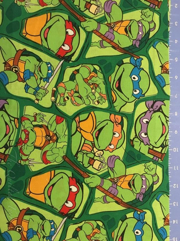 Ninja turtles fabric option