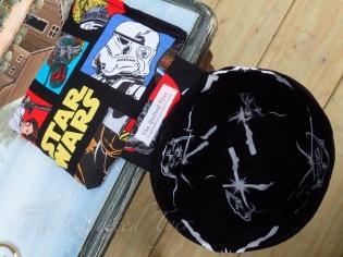 Star Wars fly tying scrap bin