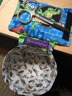 Ninja turtle with magnetic and velcro option